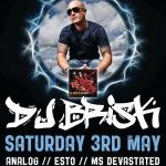 Deluxe Presents: DJ Brisk 3rd May - Brisbane